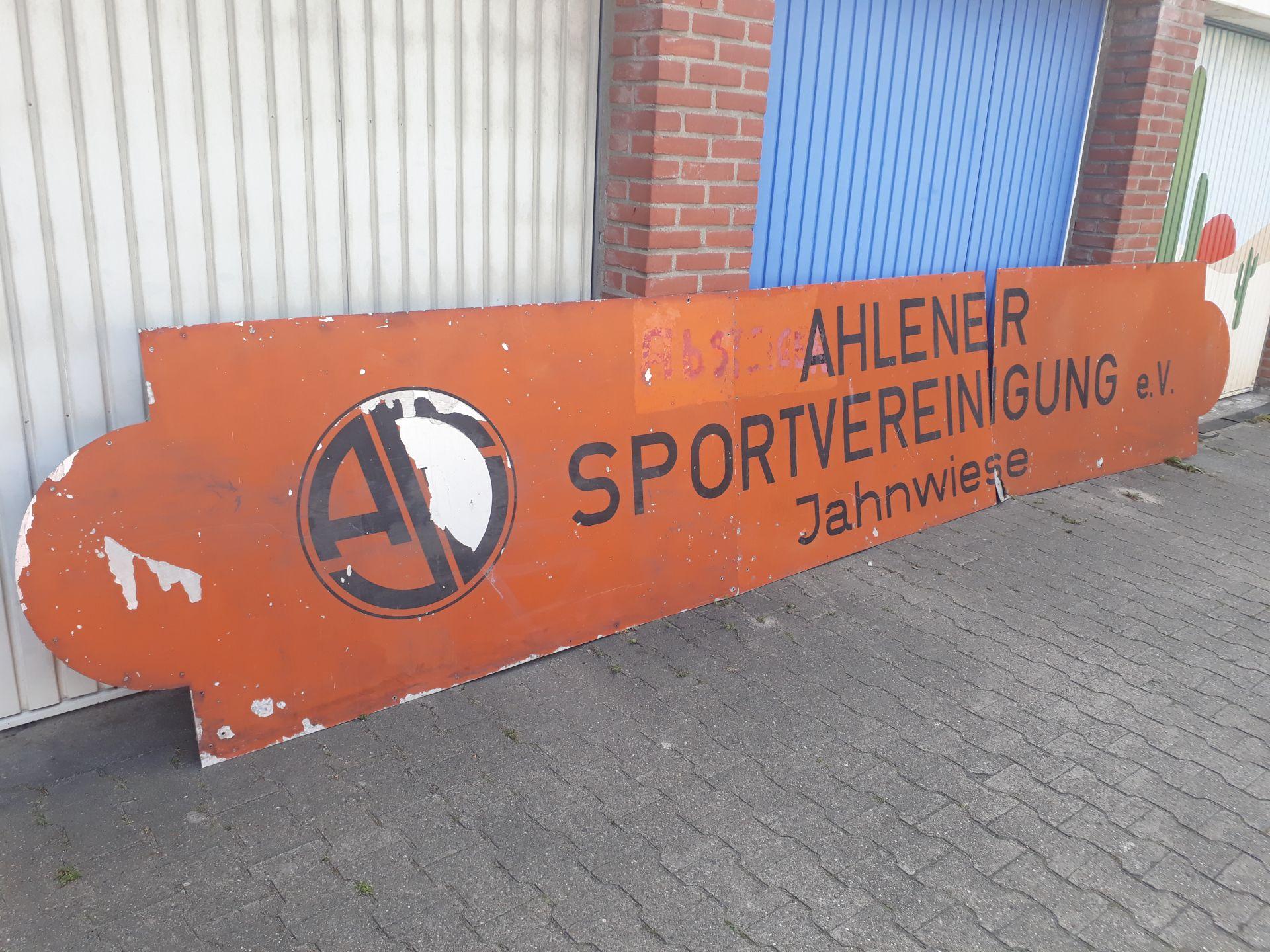 Schild ASV Jahnwiese